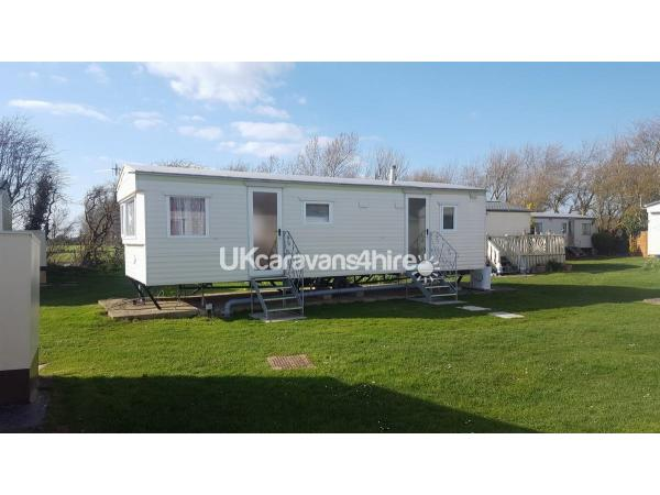 Holiday Caravan For Hire On White Horse Holiday Park In Selsey