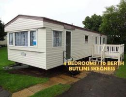 East of England Butlins Skegness Caravan village 4543