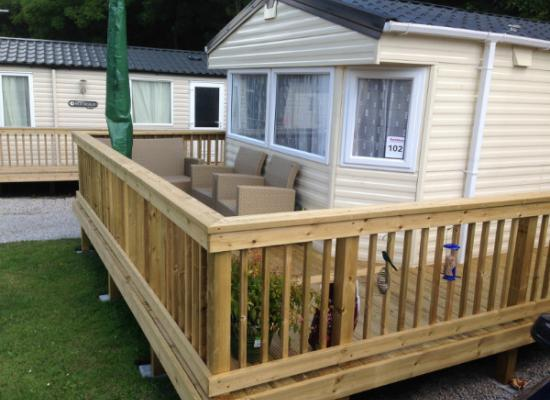 ref 2949, St Minver Holiday Park, Nr. Rock, Cornwall