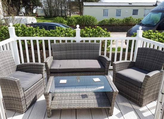 ref 6012, Seven Bays Holiday Park, Padstow, Cornwall (West)