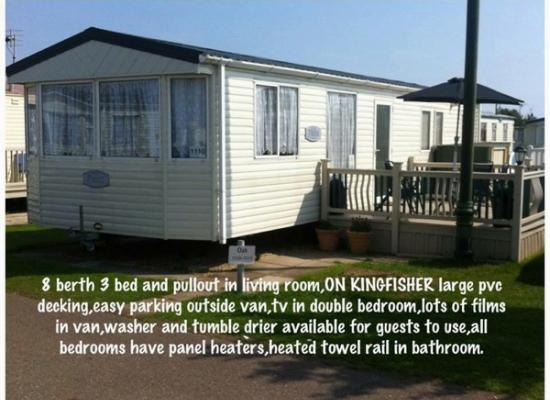 ref 6636, Kingfisher Holiday Park, Ingoldmells, Lincolnshire