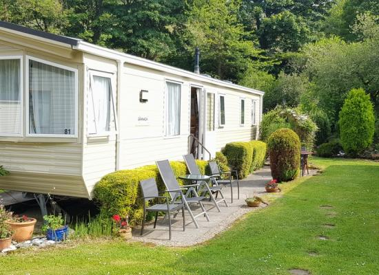 ref 876, Cardigan Bay Holiday Park, Cardigan, Pembrokeshire