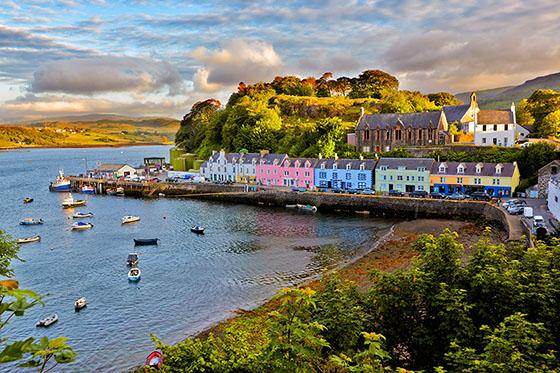 Caravan holidays in Scotland