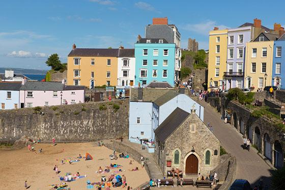 Caravan holidays in South and West Wales