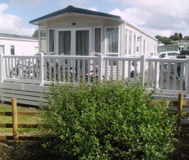 ref 119, White Acres Holiday Park, Newquay, Cornwall